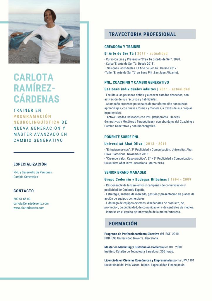 CV Carlota Ramírez-Cárdenas de Iza